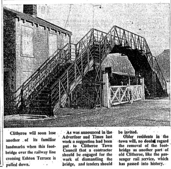 1966-03-04 Clitheroe -Crossings bridge