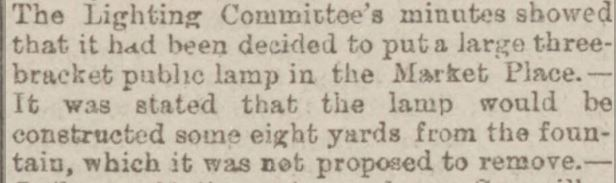 1891-10-17 new lamp and keep fountain Burnley Express