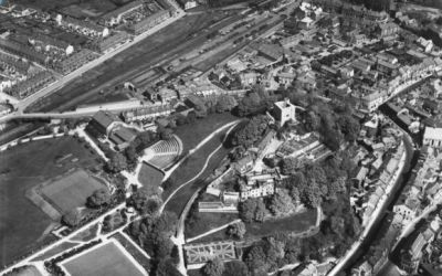 The Castle Grounds in 1947